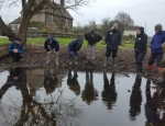 Fairy Shrimp training at Inglestone Common copyright Francesca Dunn