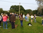 Community event at a pond site in the New Forest copyright Francesca Dunn