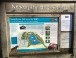 Surrey Wildlife Trust sign at Newdigate Brickpits copyright Francesca Dunn