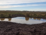 New ponds created at Oulton Marshes in winter 2016 copyright Pete Case
