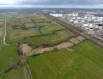 Aerial view of Thornton and Gowy copyright Andy Harmer