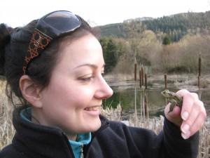 Hannah & toad