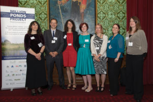 FHT staff at the HoL event for the Million Ponds Project in September 2012