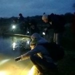 PondNet volunteers search for newts by torchlight