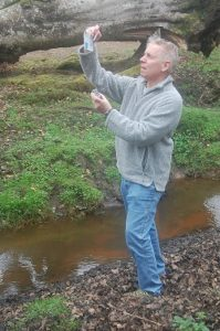 Tony Springett water sampling_web
