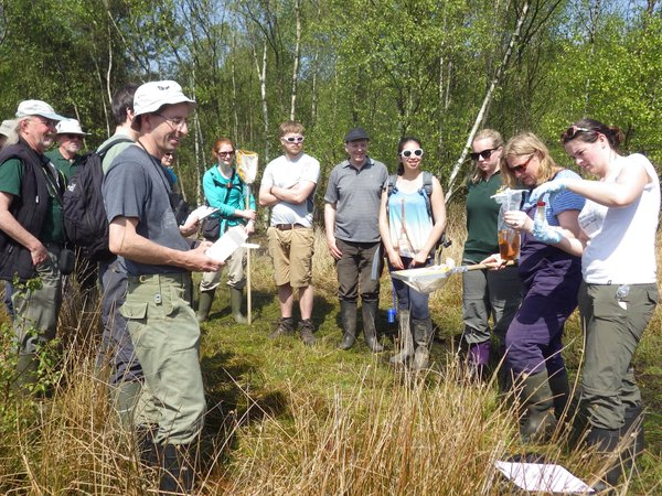 Volunteers at Skipwith Flagship Pond site were trained to carry out an eDNA survey on their site in 2016